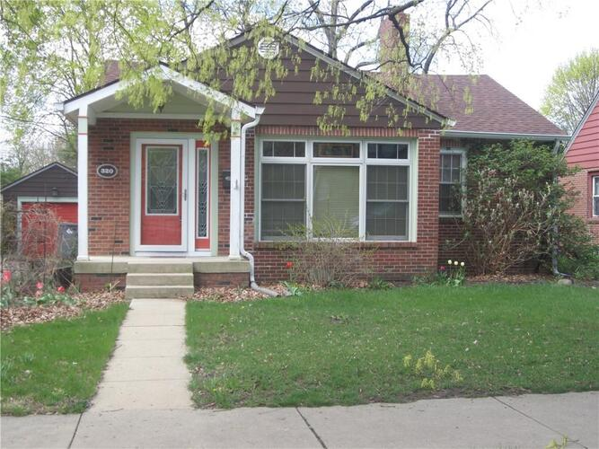 320 N Whittier Place Indianapolis, IN 46219 | MLS 21777613
