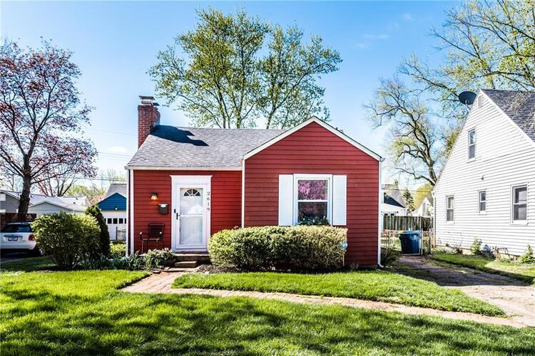 2619 E 58TH Street Indianapolis, IN 46220 | MLS 21778543