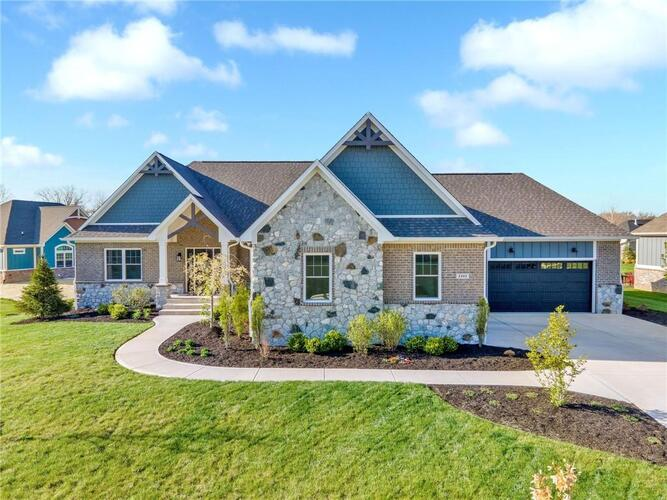 2243 W Haines Pass Greenfield, IN 46140 | MLS 21781574