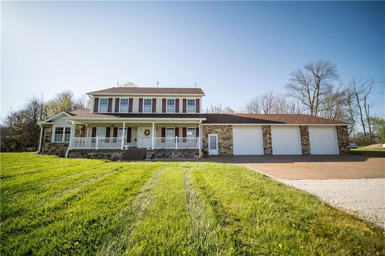 5051 N Buck Creek Pike Mooreland, IN 47360 | MLS 21781902