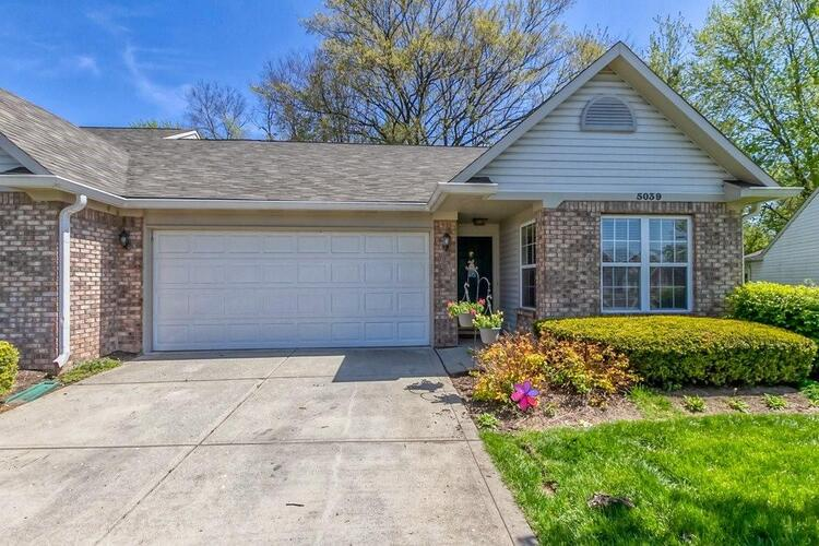 5039  Ariana Court Indianapolis, IN 46227 | MLS 21781947