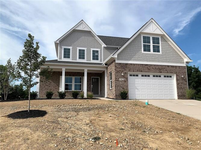 7586  BROWNSTONE Court Greenfield, IN 46140 | MLS 21787976