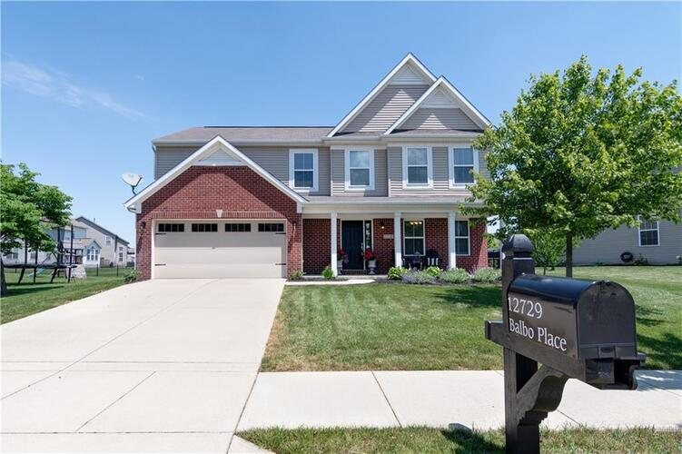 12729  Balbo Place Fishers, IN 46037   MLS 21790175