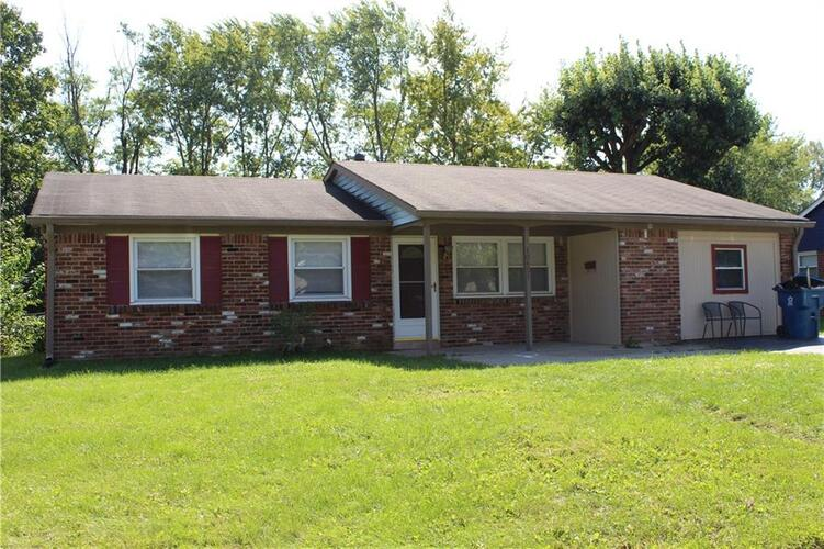 10401 E HEATHER HILLS Road Indianapolis, IN 46229   MLS 21815643