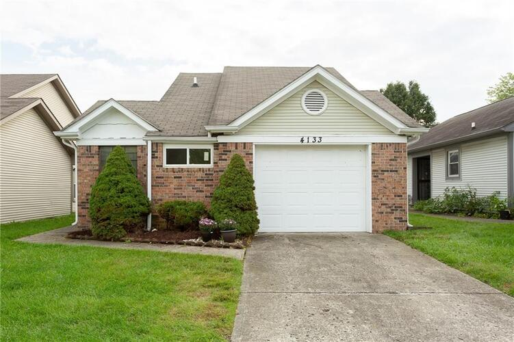 4133  Eagle Cove East Drive Indianapolis, IN 46254 | MLS 21818419