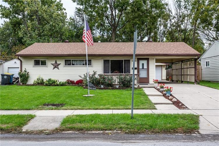 6630 E 52nd Street Indianapolis, IN 46226 | MLS 21819097