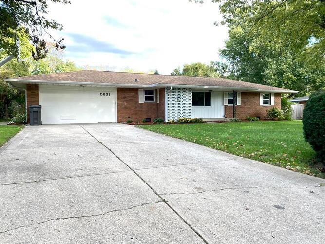5831 S Kealing Avenue Indianapolis, IN 46227 | MLS 21819669